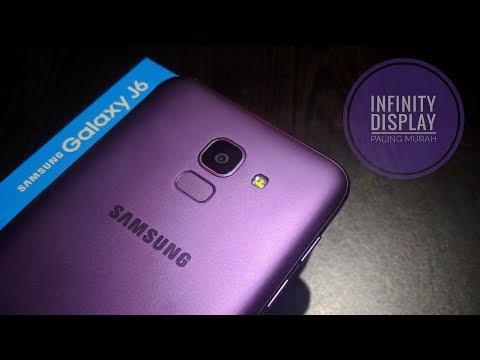 Samsung Galaxy J6 Purple Resmi Unboxing Indonesia