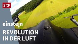«Drohnenland Schweiz» - Einstein vom 6.10.2016