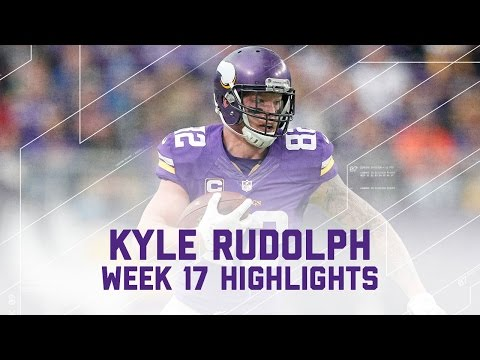 Kyle Rudolph Snags 117 Yards & 1 TD! | Week 17 Player Highlights