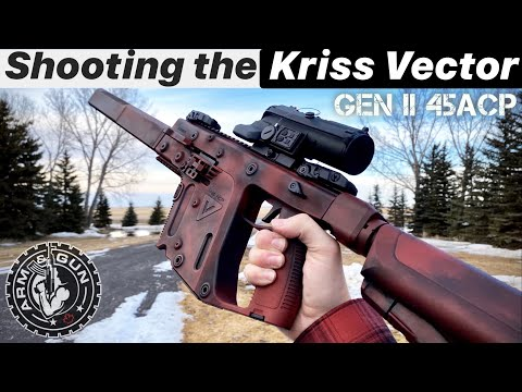 Shooting The Kriss Vector | Gen 2 CRB 45 ACP