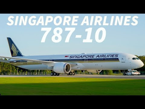SINGAPORE AIRLINES Announce NEW 787-10 Route