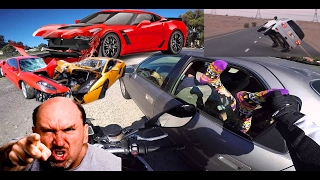 PRANK CALL GONE WRONG!! ALMOST WRECKED!! PRANKING GUY WHO CUTS ME OFF ON THE HIGHWAY IN LAS VEGAS