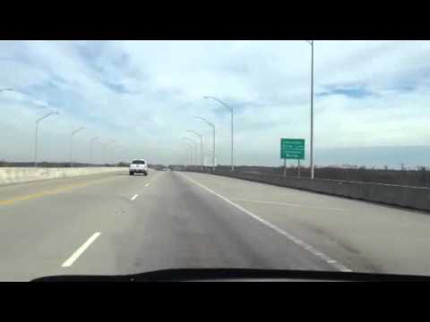 Interstate Travels I-10 Texas to Louisiana Christmas Day 20