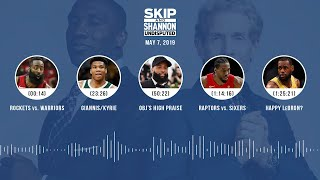 UNDISPUTED Audio Podcast (05.07.19) with Skip Bayless, Shannon Sharpe & Jenny Taft | UNDISPUTED