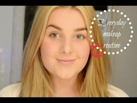 ♥Min vardagliga sminkrutin   Johanna Lind - YouTube