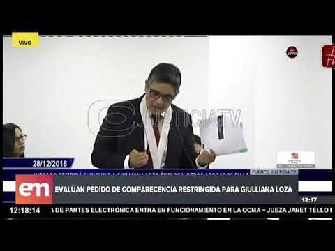 Fiscal José Domingo Pérez sustenta el pedido de comparecencia restringida para Giulliana Loza