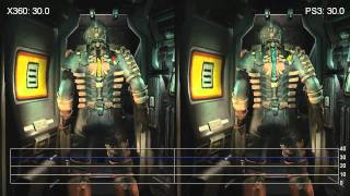 Dead Space 2 Demo Xbox 360/PS3 Frame-Rate Tests
