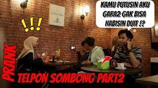 Jawaban Telponan Sombong Disamping Orang   Prank Indonesia