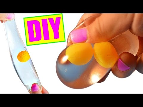 DIY Egg Stress Ball! Squishy Stretchy Egg Splat Ball!