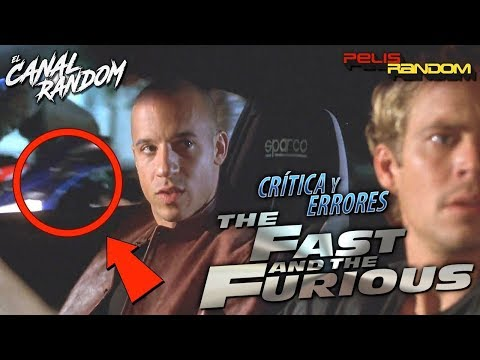 Movie Mistakes Fast and Furious (Spanish Audio)