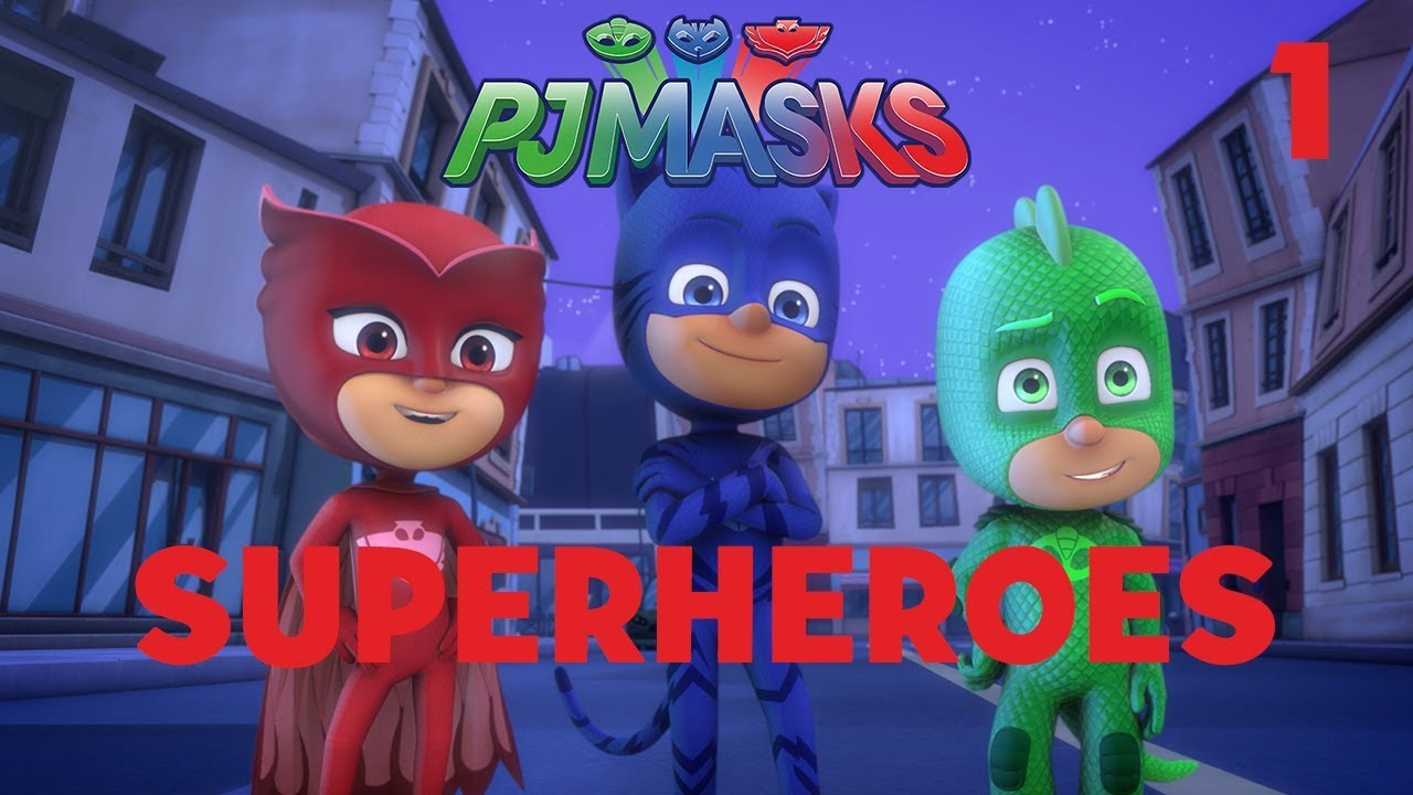 01cde99204 Superheroes Compilation! Part 1   PJ Masks   Disney Junior - YouTube