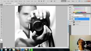 Photoshop CS5  como colocar logo marca em foto