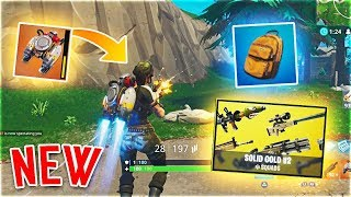 USING ALL *NEW* ITEMS IN ONE VIDEO! - (Eye Of The Storm Tracker +Jetpack gameplay!)