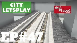 Minecraft Subway Station! City Letsplay Ep47