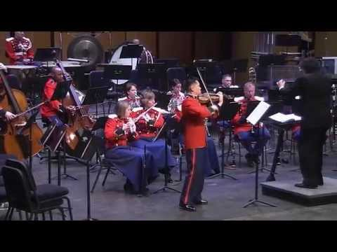 "WEILL Concerto for Violin and Winds - ""The President's Own"" U.S. Marine Band"