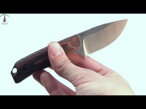 Hidden Canyon Hunter fixed blade (15016-2) with dymonwood Handle and S30V steel by Benchmade Knives