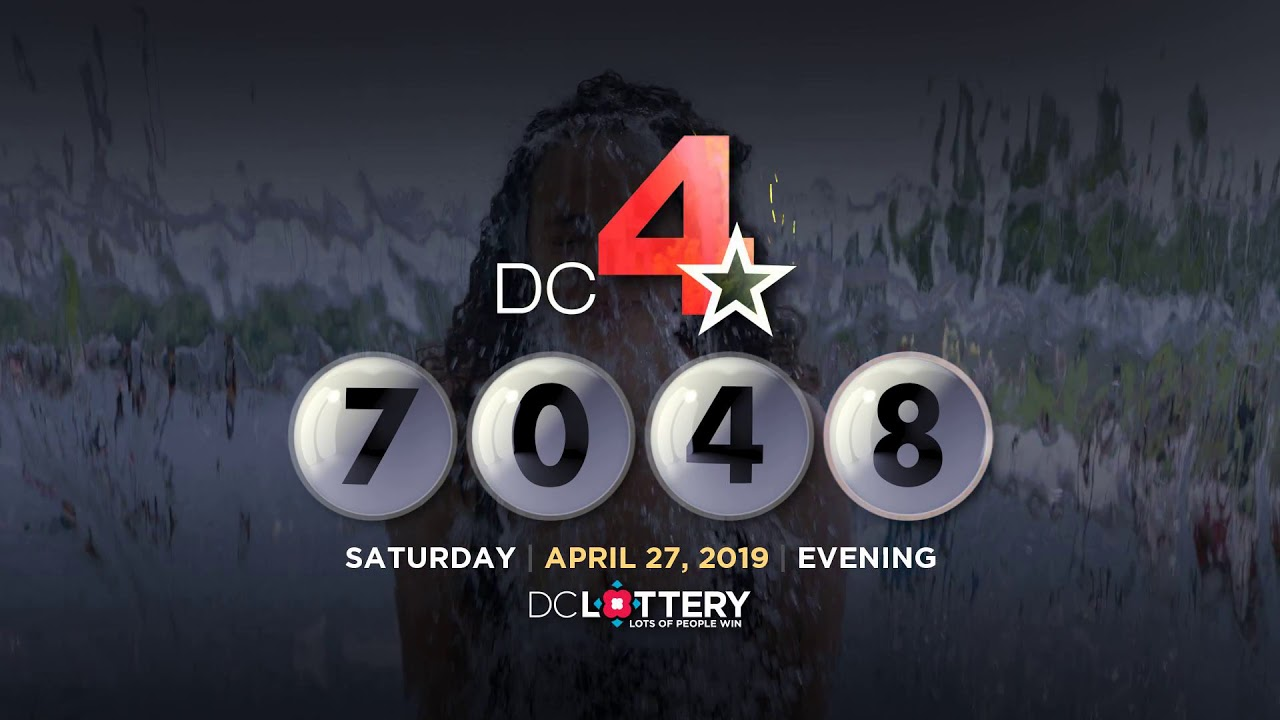 DC LOTTERY Evening 04/27/2019