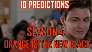 Orange Is The New Black Season 4 Predictions!