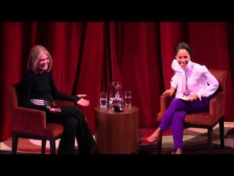 Feminist Icon Gloria Steinem in conversation with Jada Pinkett Smith