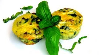 How To Make Spinach, Mushrooms Quiche Cups Recipe