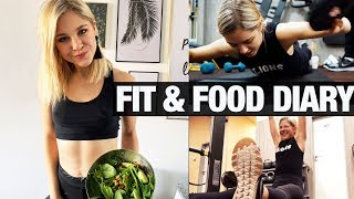 How I EAT & TRAIN in a day I Fitness-und Ernährungstagebuch