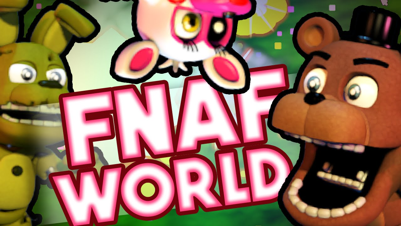 Fnaf world five nights at freddys cute edition youtube gumiabroncs Choice Image