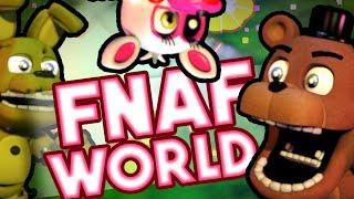 FNAF World   FIVE NIGHTS AT FREDDY