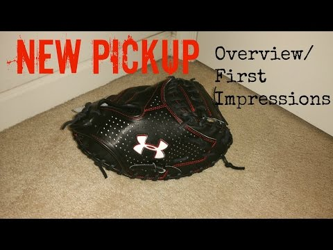 Brand New Pickup! Under Armour Catchers Mitt/ First Impressions And Overview