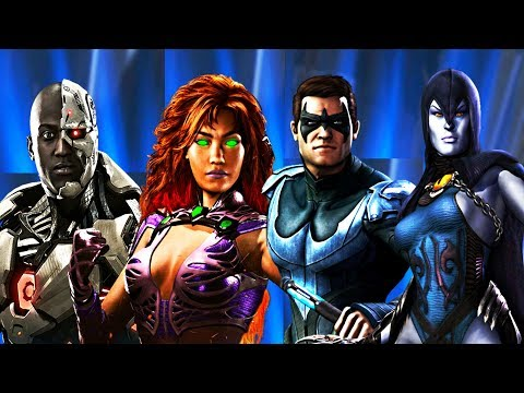 Thumbnail: Injustice 2 - All Teen Titans Dialogue/References