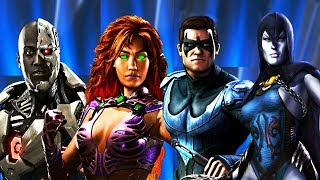 Injustice 2 - All Teen Titans Dialogue/References