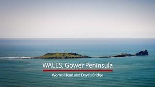 Gower Peninsula, Wales | HOUK | Cinematic Travel Video | Sony A7III 28-75mm Tamron Dji Mavic 2 pro