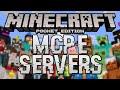 LIST OF MINECRAFT PE SERVERS! (Minecraft Pocket Edition)