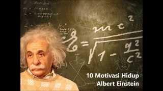 10 Motivasi Hidup Albert Einstein