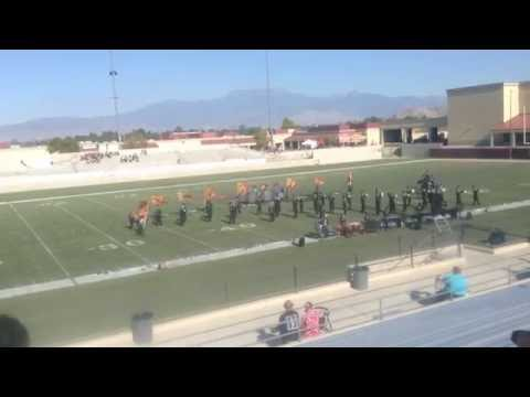 Banning High School Marching Band 2016
