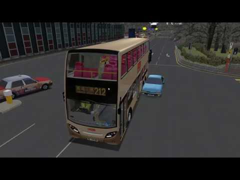 [OMSI2 Crash] When idiot AI car runs into bus...