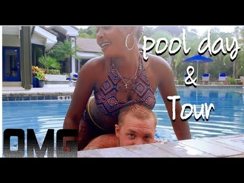 OUR HOT COUPLE POOL DAY/POOL TOUR #MUST WATCH