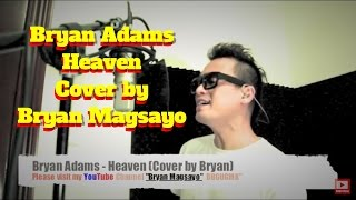 Bryan Adams - Heaven Cover By Bryan Magsayo