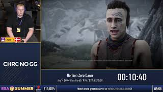 #ESASummer18 Speedruns - Horizon Zero Dawn [Any% (NG+ Ultra Hard)] by ElkjaerTV