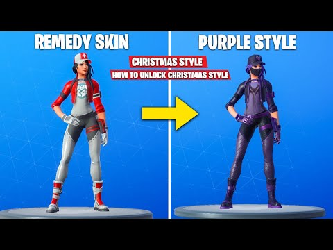 *New* Remedy Vs Toxin Skin Purple Style - How To Unlock REMEDY VS TOXIN Purple Style - FORTNITE