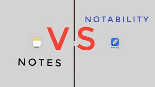 Gambar cover Notability vs Apple Notes in iPadOS (+ GIVEAWAY)