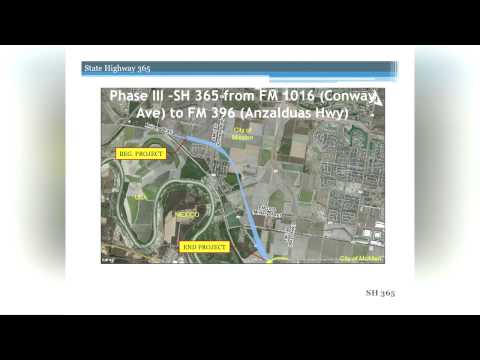 TxDOT Discusses State Highway 365