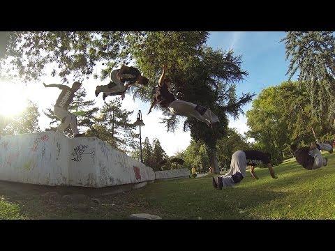 Parkour & Freerunning Challenge in Skopje Macedonia