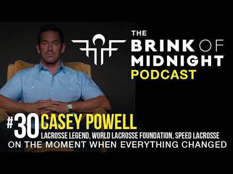#30: CASEY POWELL, Lacrosse Legend, World Lacrosse Foundation, Speed Lacrosse