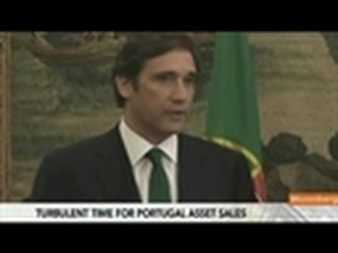 Portugal Attempts Asset Sales to Meet Terms of Bailout