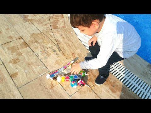 Toyboxlar Havuza Düştü 😱havuzdan Toyboxları Nasıl Kurtarıcaz🤔😑çok Heyecanlı😂