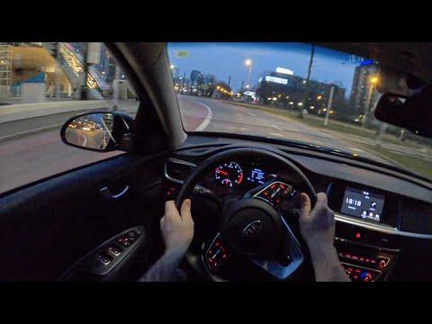 Kia Optima Night | POV Test Drive #465 Joe Black