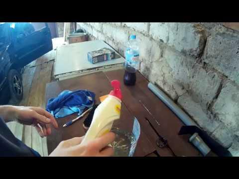 Химчистка пластика салона FAIRY. Чистота за 70 рублей