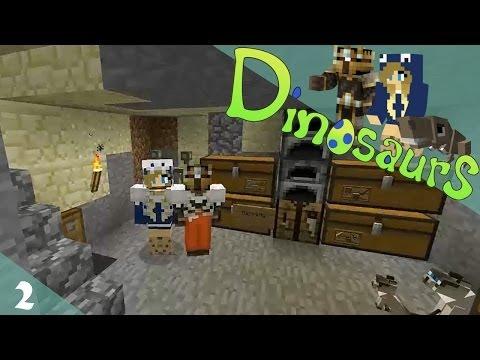 Jurassic Craft (Dinosaurs): Episode 2 - Building a Pen!