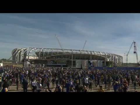 LIVE: Rams Super Bowl Send-Off