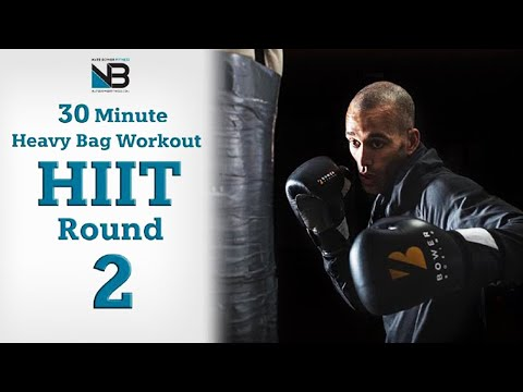 30 Minute Boxing Heavy Bag HIIT Workout...